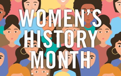 March is Women's History Month, and that got me thinking . . . about mentors.